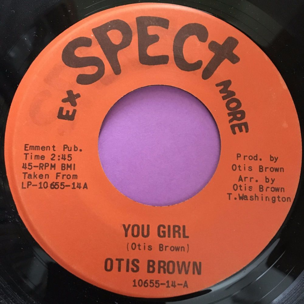 Otis Brown-You girl-Exspect more E