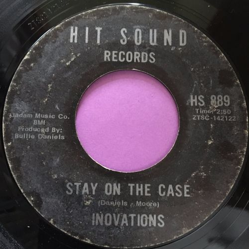 Inovations-Stay on the case-Hit sound vg+