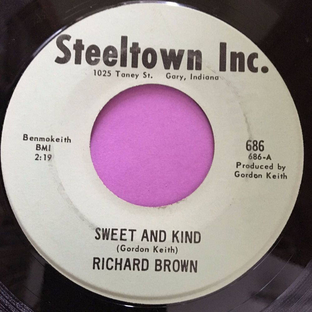 Richard Brown-Sweet and kind-Steeltown E+
