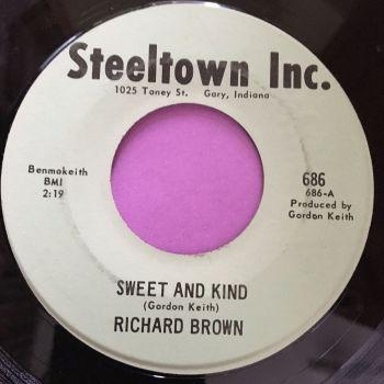 Richard Brown-Sweet and kind-Steeltown E+
