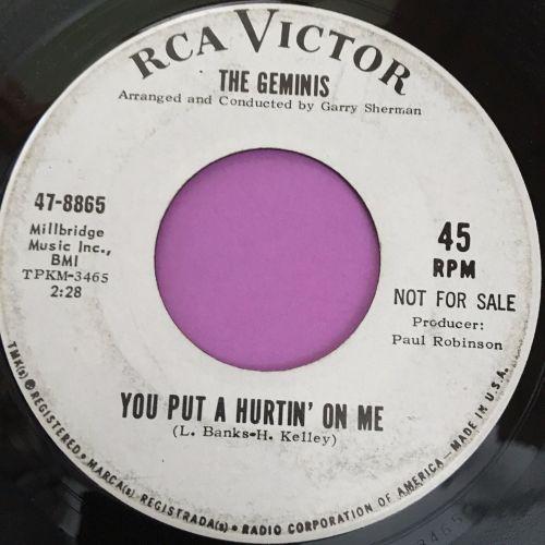 Geminis-You put a hurtin' in my heart-RCA WD E+