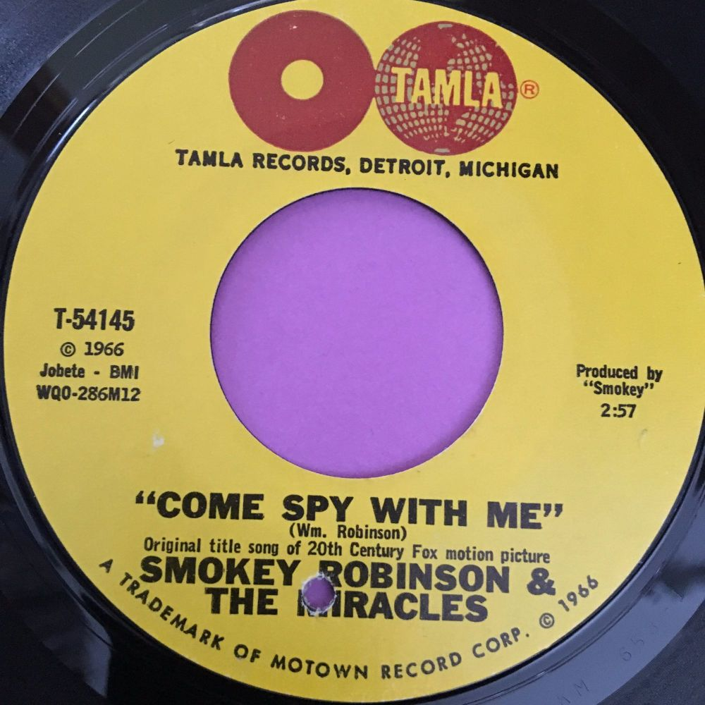 Smokey Robinson-Come spy with me-Tamla E+