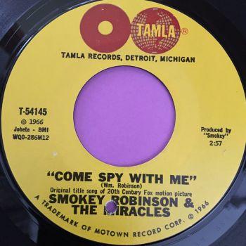 Smokey Robinson-Come spy with me-Tamla E+