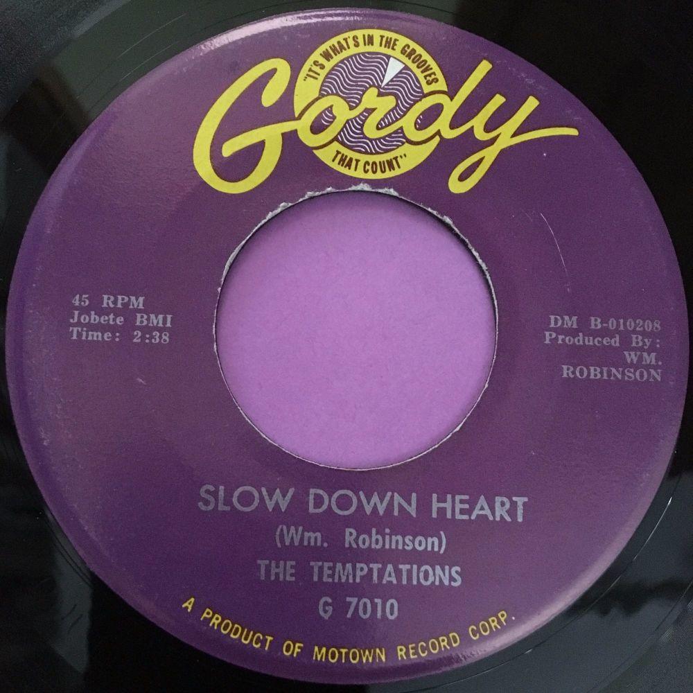 Temptations-Slow down heart-Gordy M-