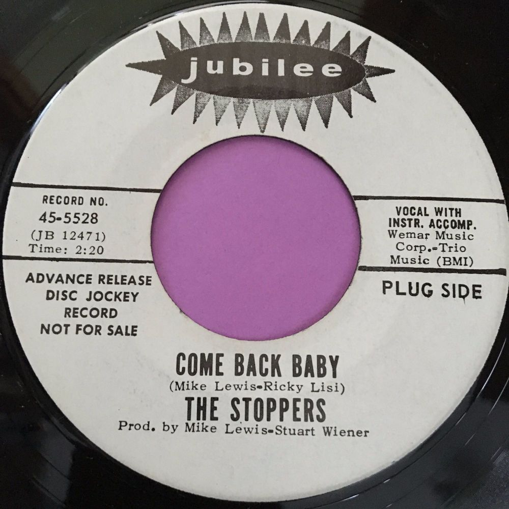 Stoppers-Come back baby-Jubilee WD M-