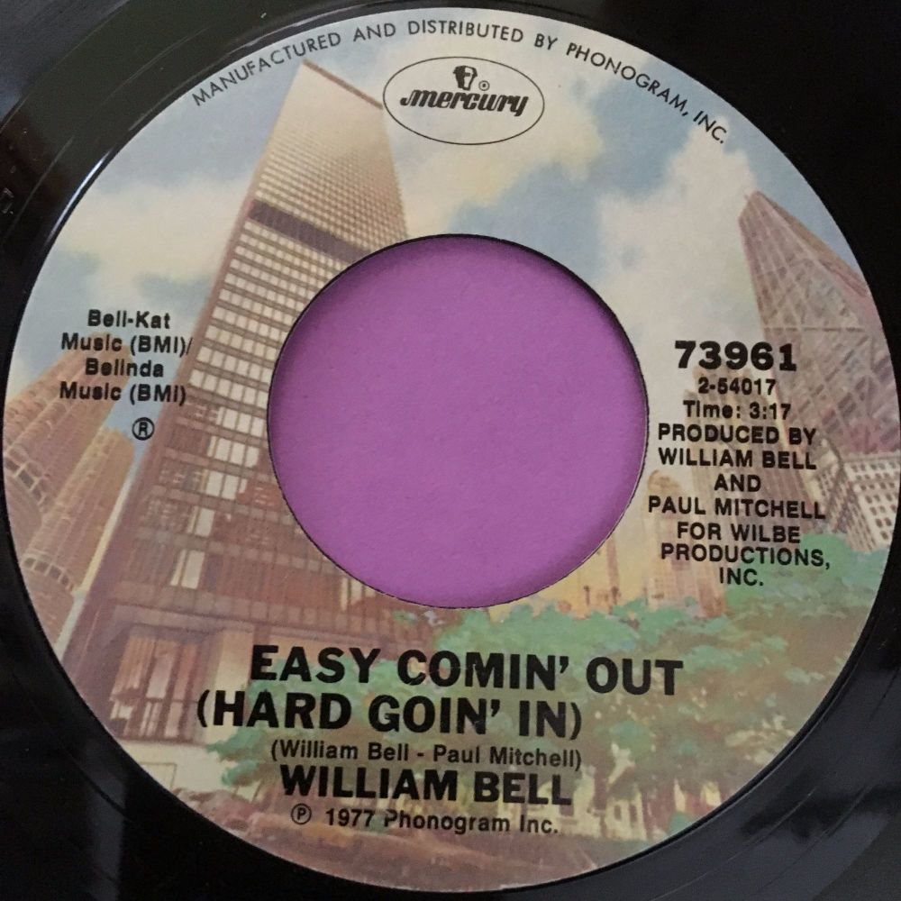 William Bell-Easy coming out-Mercury E+