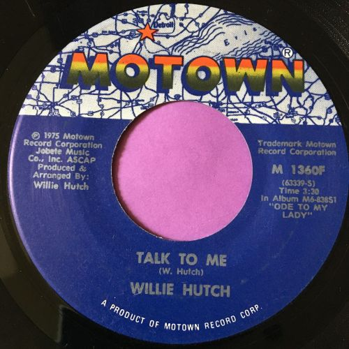 Willie Hutch-Talk to me-Motown E