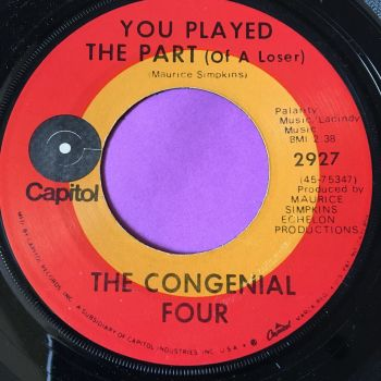 Congenial Four-You played the part of a loser-Capitol E+