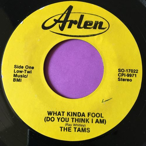 Tams-What kind of fool-Arlen E+