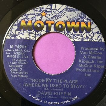 David Ruffin-Rode by the place-Motown E+