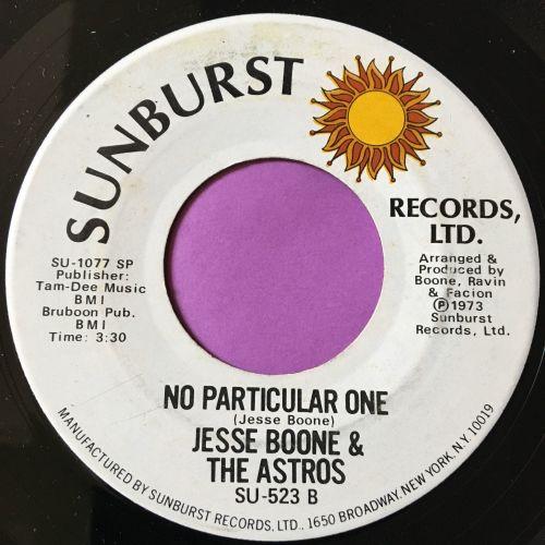 Jesse Boone-No particular one-Sunburst E+