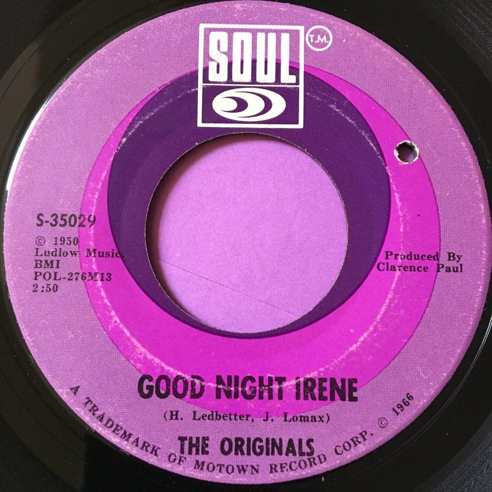 Originals-Good night Irene-Soul E+