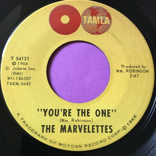 Marvelettes-You're the one-Tamla E+