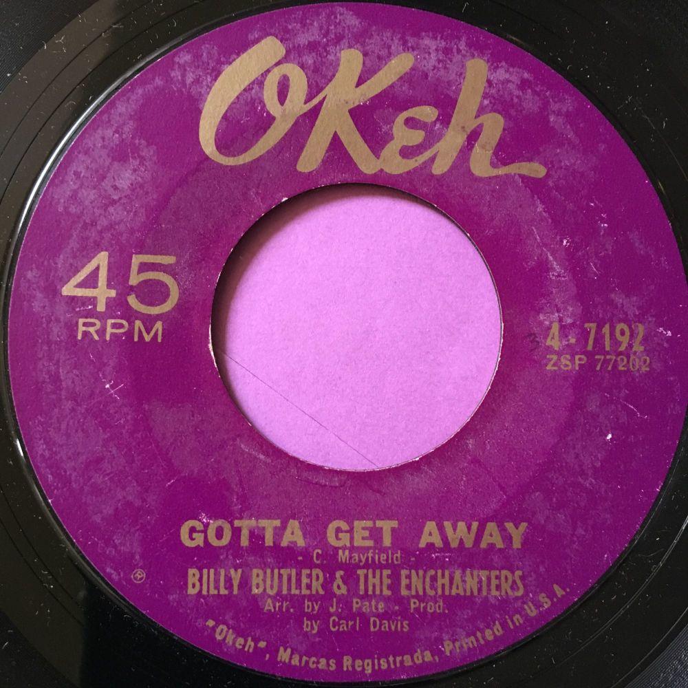 Billy Butler-Gotta get away-Okeh E+