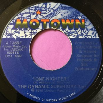 Dynamic Superiors-One-Nighter-Motown E+