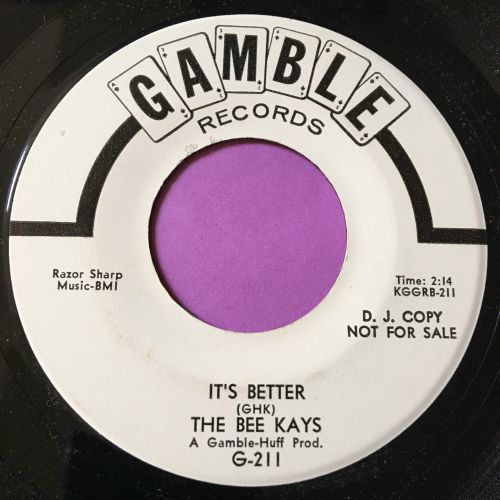 Bee Kays-It's better-Gamble WD E+