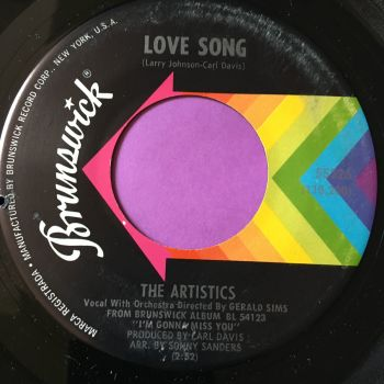 Artistics-Love song/I'll always love you-Brunswick E+