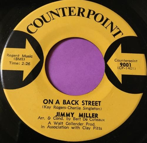 Jimmy Miller-On a back street-Sounterpoint E+