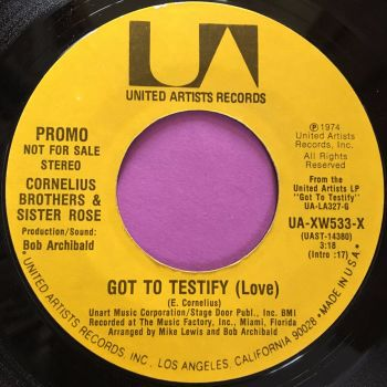Cornelius Brothers-Got to testify-UA WD wol E+