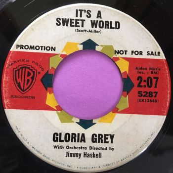 Gloria Grey-It's a sweet world-WB vg+