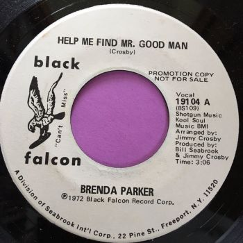 Brenda Parker-Help me find Mr. Good Man-Black falcon WD E+