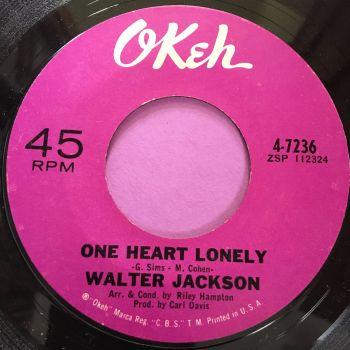 Walter Jackson-One heart lonely-Okeh E+