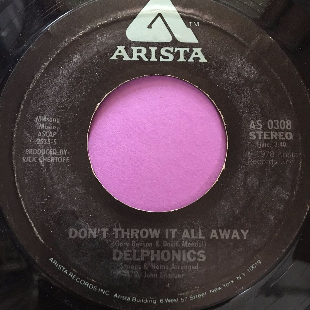 Delphonics-Don't throw it all away-Arista E+