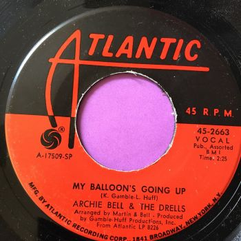Archie Bell & The Drells-My baloon's going up-Atlantic M-
