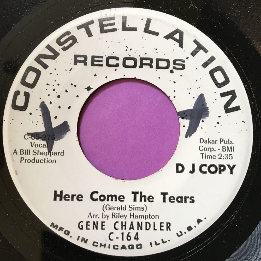 Gene Chandler-Here comes the tears-Constellation WD X M-