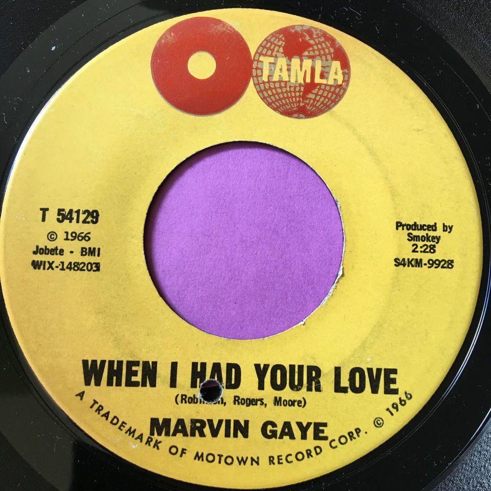 Marvin Gaye-When I had your love-Tamla M-