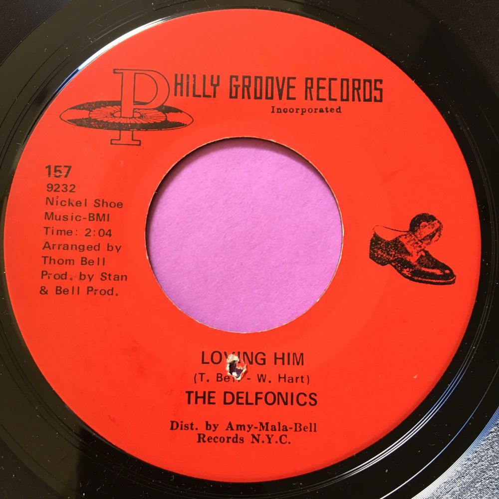 Delfonics-Loving him-Phillygroove E+