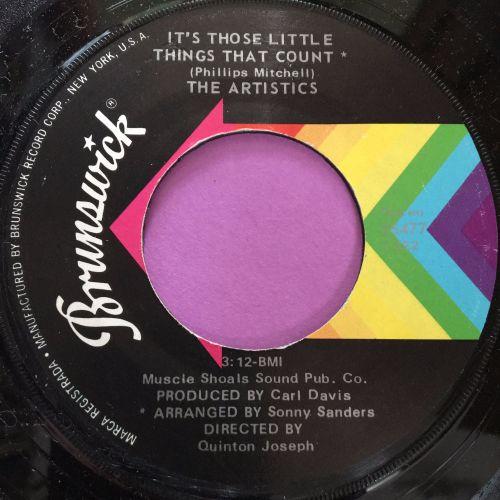 Artistics-It's those little things that count-Brunswick M-