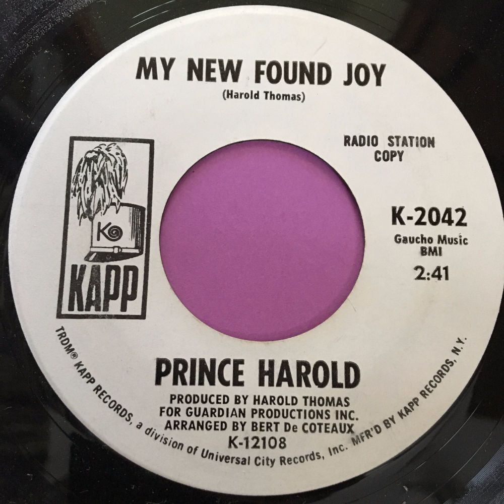Prince Harold-New found joy-Kapp WD M-