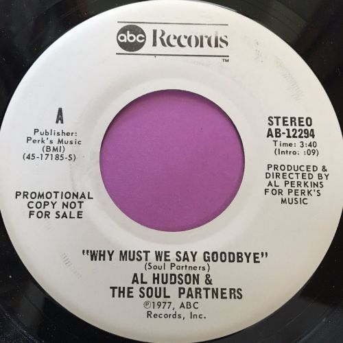 Al Hudson-Why must we say goodbye-ABC WD E+