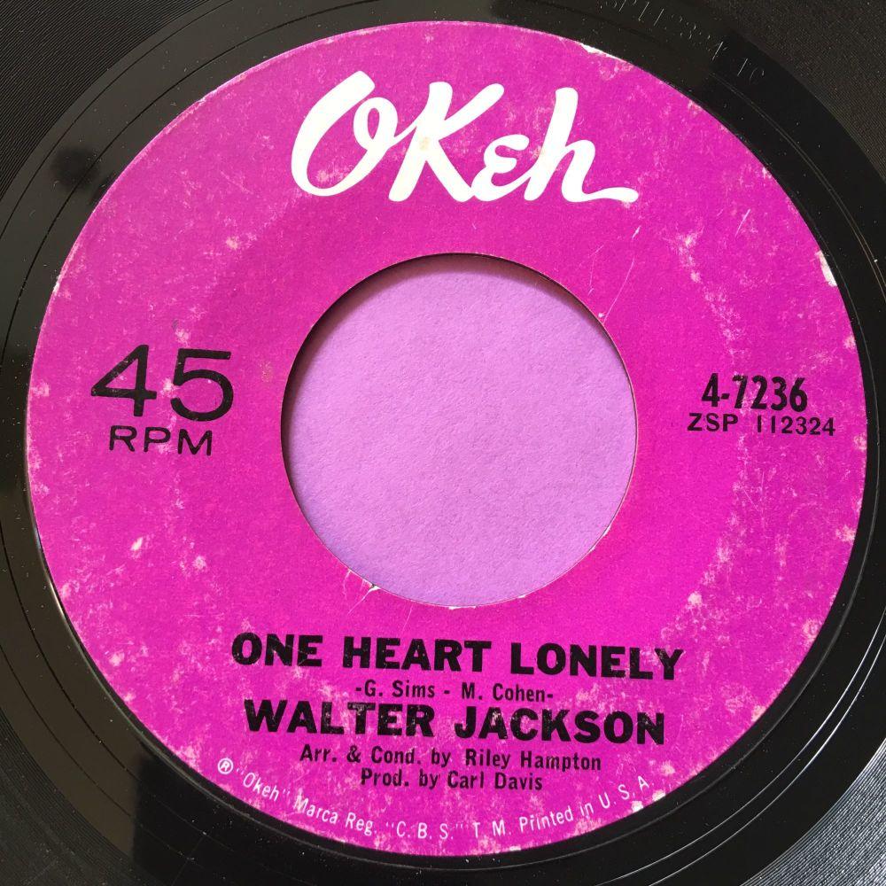 Walter Jackson-One heart lonely-Okeh E