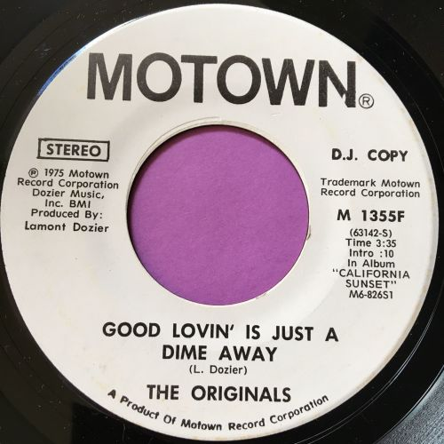 Originals-Good lovin' is just a dime away-Motown WD M-