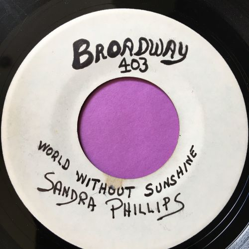 Sandra Phillips-World without sunshine-Test press E+