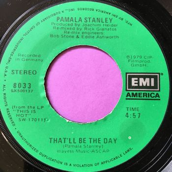 Pamala Stanley-That'll be the day-EMI M-