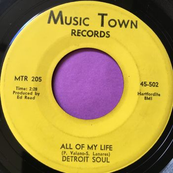 Detroit Soul-All of my life-Music Town E