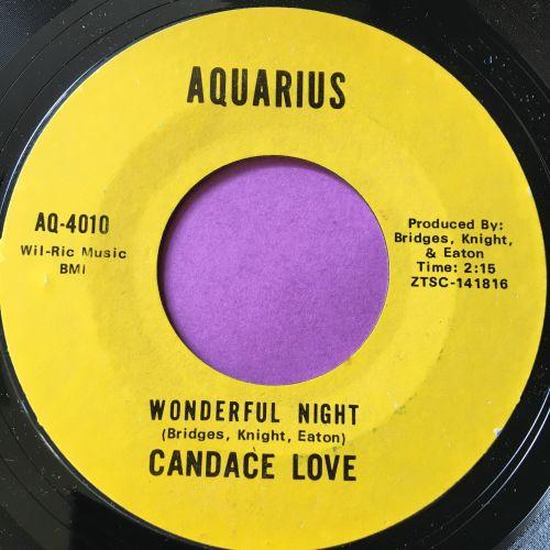 Candace Love-Wonderful night-Aquarius E+