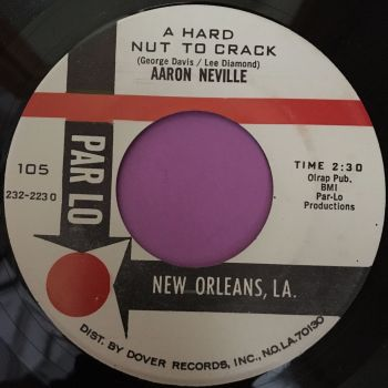 Aaron Neville-A hard nut to crack-Parlo E+