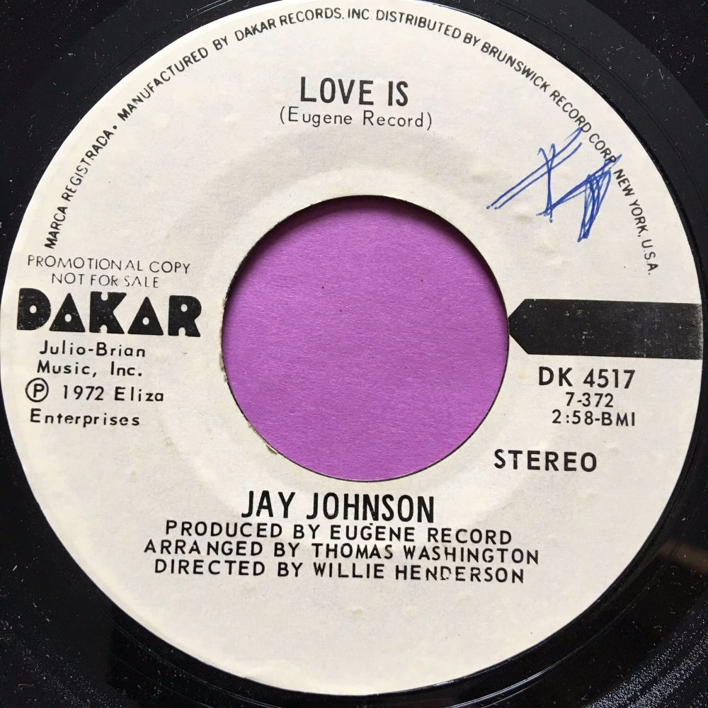 Jay Johnson-Love is-Dakar WD M-