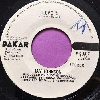 Jay Johnson-Love is-Dakar WD wol M-