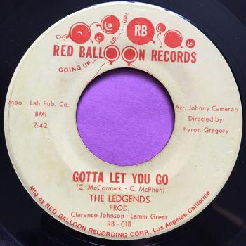 Ledgends-Gotta let go-Red balloon E+