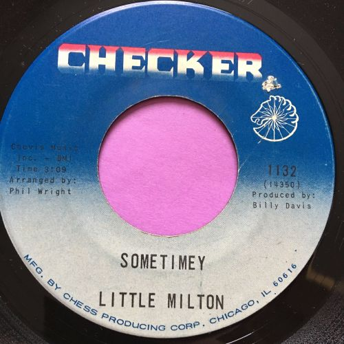 Little Milton-Sometimey-Checker E+