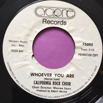 California Rock Choir-Whoever you are-Cyclone WD E+