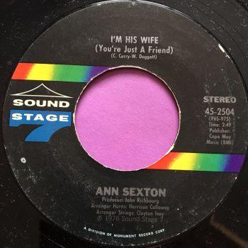 Ann Sexton-I`m his wife-Sound stage 7 M-
