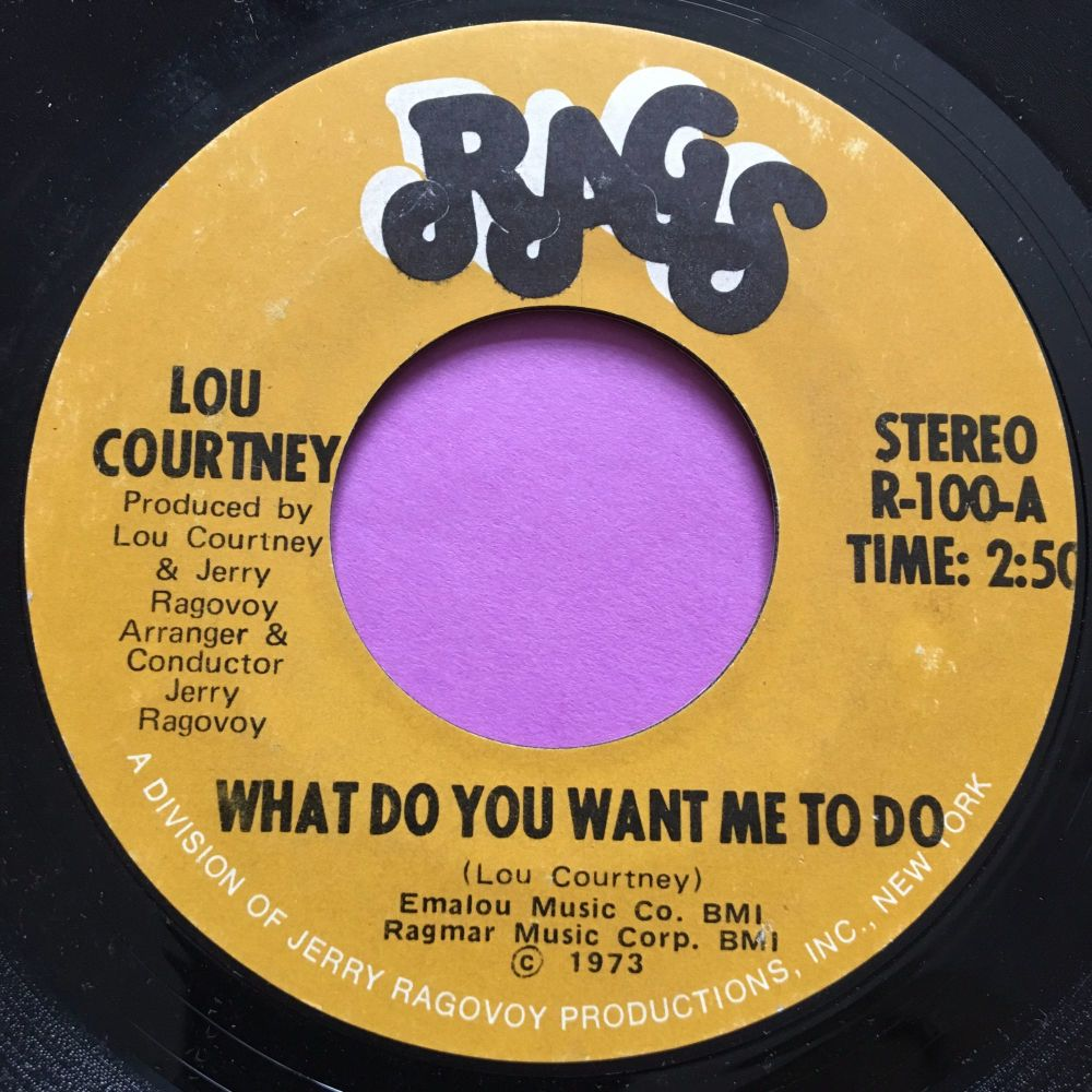 Lou Courtney-What do you want me to do-Rags E+