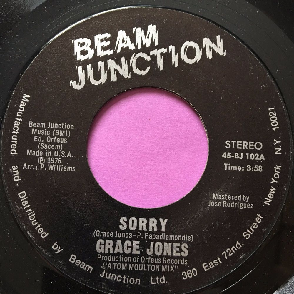 Grace Jones-Sorry-Beam Junction M-
