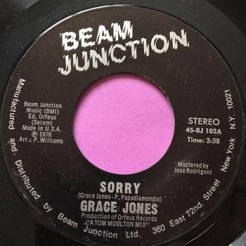 Grace Jones-Sorry-Beam Junction M-